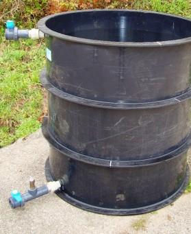 Pískový proplachovaný filtr